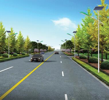 县市道路6米太阳能路灯 PXTYN-031